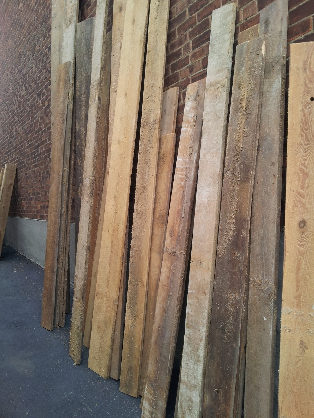 Reclaimed lumber and barn wood for Reclaimed wood decking