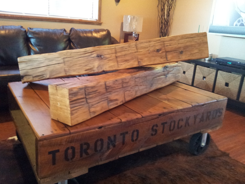Reclaimed Barn Beams and Barn Wood!