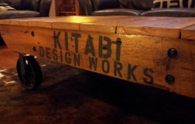 The Refined Pallet - Reclaimed Wood Furniture and Sliding Barn Doors - Toronto - Reclaimed Barn Wood Custom Made Flat Table