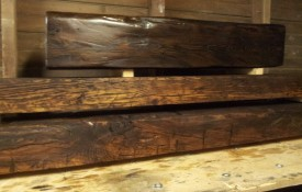 The Refined Pallet - Reclaimed Wood Furniture and Sliding Barn Doors - Toronto - Custom Milled Barn Beam Mantels