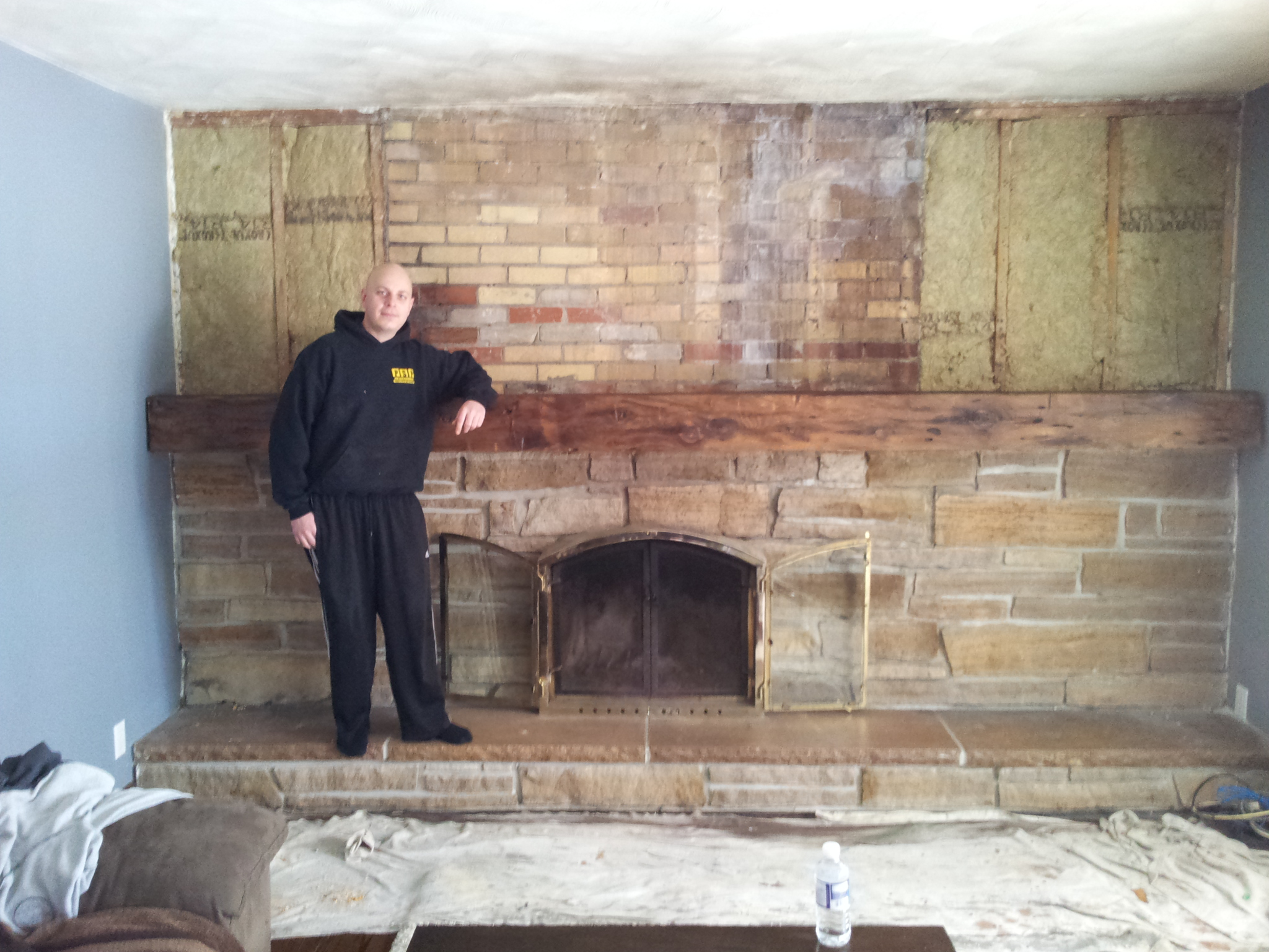 Big Ass Fireplace Renovation