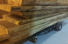 BIG Ash Barn Beam Slabs Circa 1886!!