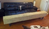 Big Ass Barn Beam Bench!!