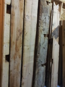 Resawn Barn Beams