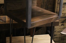 Side Table With Hairpin Legs!